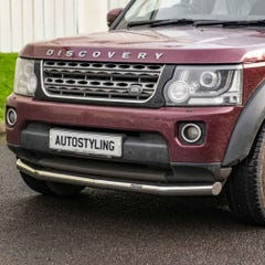 Front Spoiler Protector Stainless Mach for Land Rover Discovery 4 (09 on)