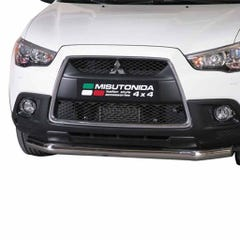 Front Spoiler Protector Stainless Mach ASX Mk1-2 (10 on) SLF/276/IX