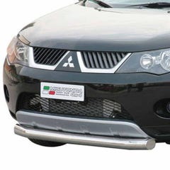 Front Spoiler Protector Stainless Mach for Mitsubishi Outlander Mk3 (07-10)