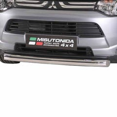 Front Spoiler Protector Stainless Mach for Mitsubishi Outlander Mk5 (12-15)