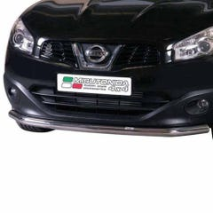 Front Spoiler Protector Stainless Mach Qashqai Mk2 (10 on) LARGE/265/IX