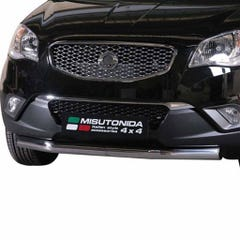 Front Spoiler Protector Stainless Mach for SsangYong Korando (11 on)