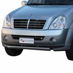 Front Spoiler Protector Stainless Mach for SsangYong Rexton Mk3 (06-12)