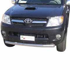 Front Spoiler Protector Stainless Mach for Toyota Hilux Mk6