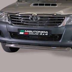 Front Spoiler Protector Stainless Mach for Toyota Hilux (2011 on) Extra Cab