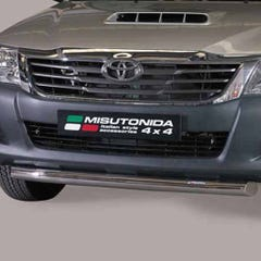Front Spoiler Protector Stainless Mach for Toyota Hilux (2011-16)