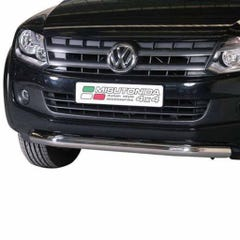 Front Spoiler Protector Stainless Mach for Volkswagen Amarok (10 on)