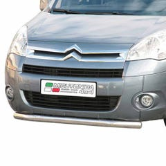Front Spoiler Protector Stainless Mach for Citroen Berlingo Mk3 (08 on)