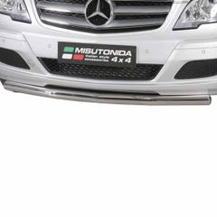 Front Spoiler Protector Stainless Mach for Vito Mk3 (10-14)