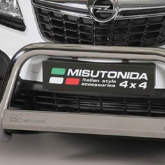 Front Spoiler Protector Stainless Mach for Mokka Mk1 (12 on)