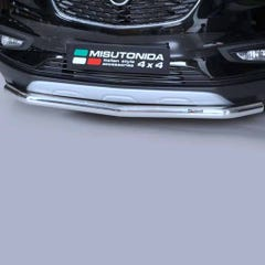 Front Spoiler Protector Stainless Mach for Mokka Mk2 (12 on)