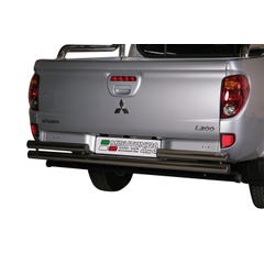 Rear Bar DOUBLE 63mm Stainless Mach for Mitsubishi L200 Mk7 (10 on)