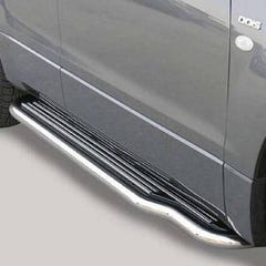 Side Steps with Bars 50mm SS Mach for Suzuki Grand Vitara Mk1 (99-00) 2 Door