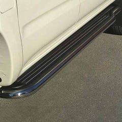 Side Steps with Bars 50mm SS Mach for Toyota Hilux Mk3 (88-98) Extra Cab