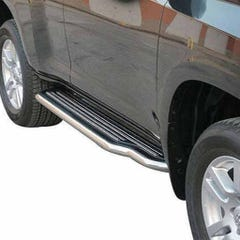 Side Steps with Bars 50mm SS Mach for Toyota Landcruiser LC3-5/LC150  5 Door