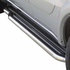 Side Steps with Bars 50mm Stainless Mach for Toyota Rav4 Mk3 (00-03) 5 Door