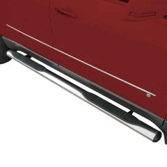 """EGR Side Steps 4"""" Stainless with Treads for Toyota Hilux Mk8 (16 on) DC"""