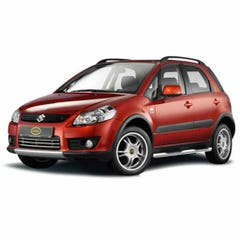 Cobra Side Bars Stainless (with steps) 60mm for Suzuki SX4 Mk1