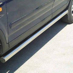 Side Bars 63mm Stainless Mach for Honda CR-V Mk2 (00-05)
