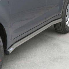 Side Bars 63mm Stainless Mach for Suzuki Grand Vitara Mk1 (99-00) 2 Door