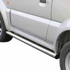 Side Bars 63mm Stainless Mach for Suzuki Jimny (98-12)