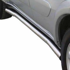 Side Bars 63mm Stainless Mach for Toyota Rav4 Mk1 (94-98) 3 Door