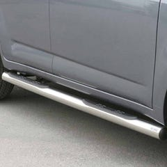 Pair of Side Bars with Steps 76mm Stainless Mach for Daihatsu Terios Mk3 (06 on)