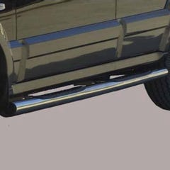 Pair of Side Bars with Steps 76mm SS Mach for Kia Sorento Mk1 (02 on)