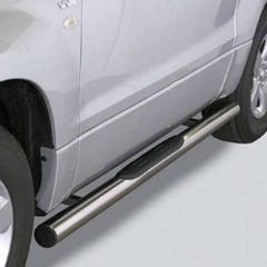 Side Bars with Steps 76mm SS Mach for Suzuki Grand Vitara Mk3  (05 on) 3 Door