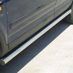 Stainless Steel Side Protections Mach 63mm for Honda HR-V 5 door (02 on) LWB