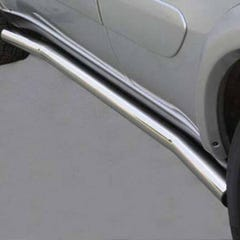 Stainless Steel Side Protections Mach 63mm for Kia Carens 03-06 (03-06)