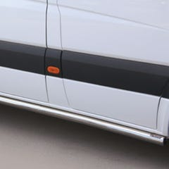 Stainless Steel Side Protections Mach 63mm for Mercedes Sprinter Mk5 (2018 on)