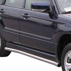 Stainless Steel Side Protections Mach 63mm for Subaru Forester Mk4 (06-08)