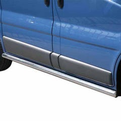 Stainless Steel Side Protections Mach 63mm for Vauxhall Vivaro Mk2 (06-14)
