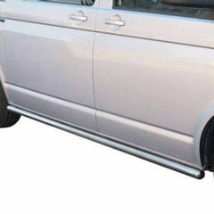 Stainless Steel Side Protections Mach 63mm for Volkswagen T5 Mk2 (09 on)