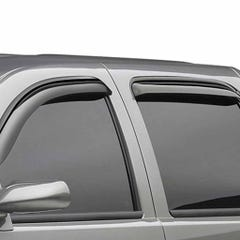 Quad Set Wind Deflectors EGR Dark Smoke for Nissan Qashqai (14 on)