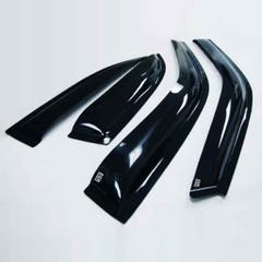 Quad Set Front & Rear Wind Deflectors Dark Smoke Vitara 5 door (15 on)