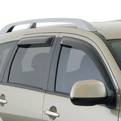 Quad Set Wind Deflectors Light Smoke Landcruiser 120 (03 on)