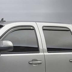 Quad Set Wind Deflectors Light Smoke Toyota Rav4 Mk8 (16-18)