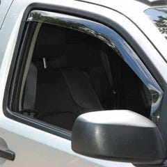 Front Wind Deflectors Light Smoke for Mitsubishi Challenger (99 on)
