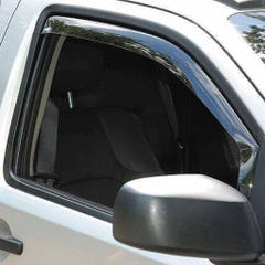 Front In Channel Wind Deflectors Airvit for Nissan Micra (03 on) 3 Door