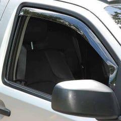 Front In Channel Wind Deflectors Airvit for Toyota Corolla (87-92) 3 Door