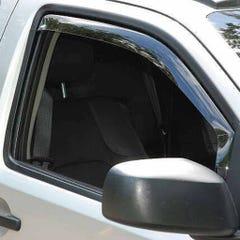 Front In Channel Wind Deflectors Airvit for Volkswagen Lupo (99 on) 3 Door