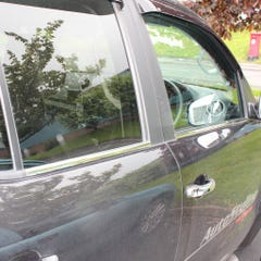 Window Trim Cover Stainless Steel  VW Multivan T5 (2 Pcs. )