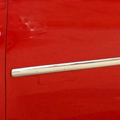 Side Door Streamer (Maxi) Stainless Steel  VW Caddy (4 Pcs. )