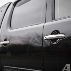 Door Handle Stainless Steel Quad Set Hilux Mk6 (05-16) DC