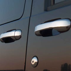 Door Handle Cover Stainless Steel  Ford Connect (4 Doors )