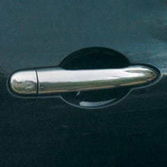 Door Handle Cover Stainless Steel  VW Transporter (4 Doors )