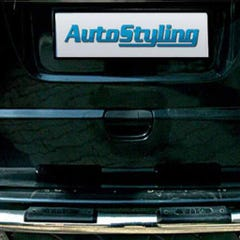 Rear Bumper Sill Cover Stainless Steel  Mercedes Vito Mk2 (1 Pcs. )