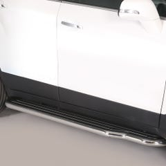 Pair of Stainless Steel 50mm Running Board Side Steps Chevrolet Trax (2013 Onwards)